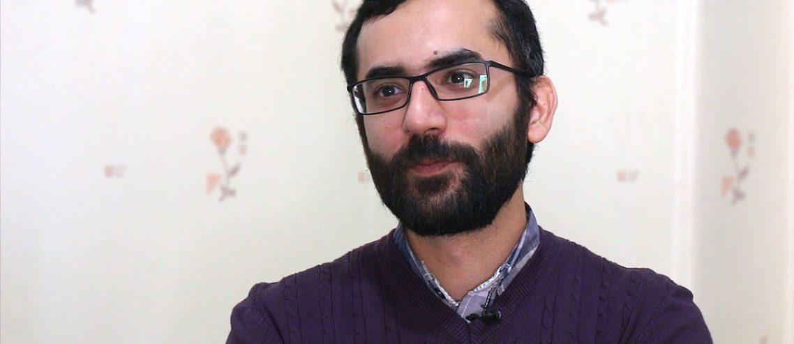 محمد محمدخانی صاحب غرفه آبی عمیق در باسلام