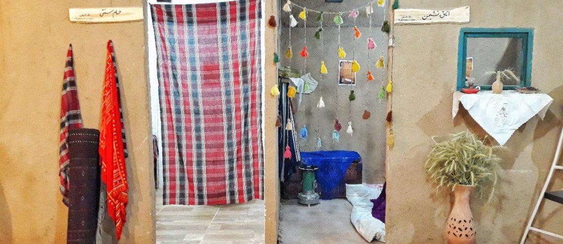 حمام و اتاق نشیمن فروشگاه خانه احسان کاشمر