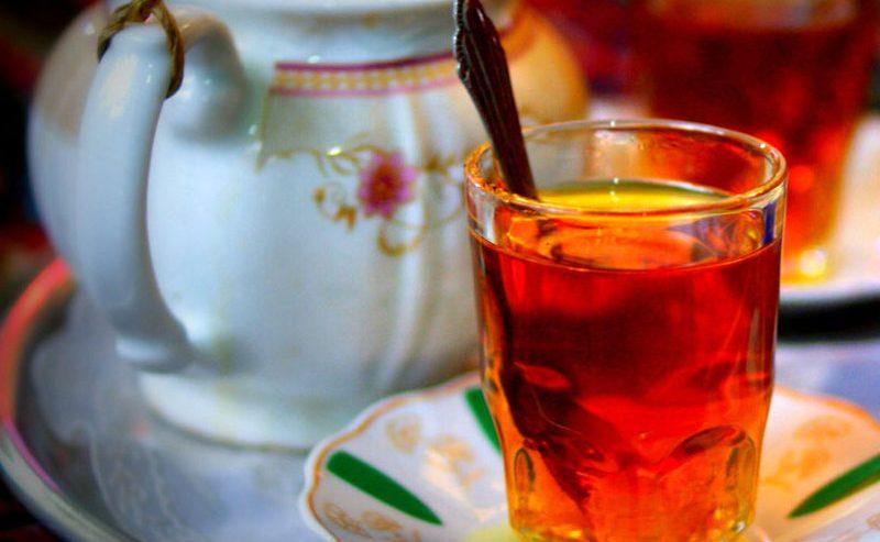 چای ایرانی و قوری