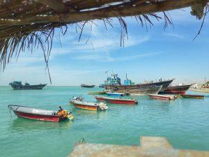 باسلام | Basalam - قایق ها در ساحل قشم