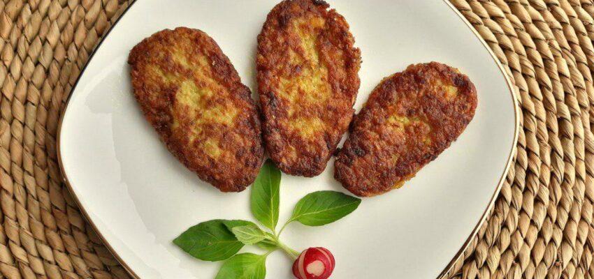 باسلام | Basalam - طرز تهیه کتلت با چاشنی خمیر سبز جوغن
