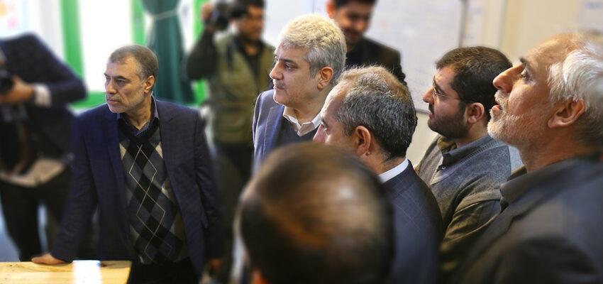 وبلاگ بازار باسلام - basalam - بازدید معاون رئیس جمهور