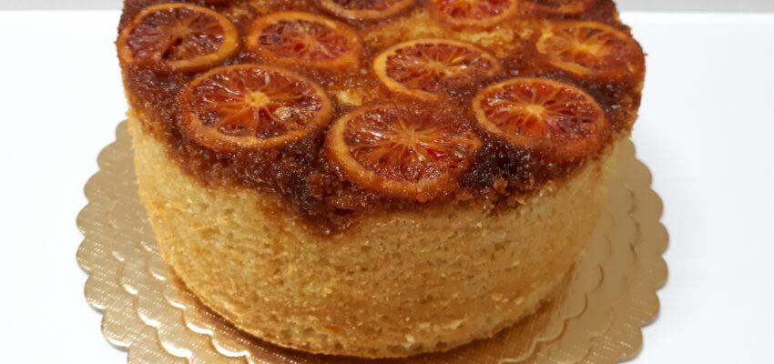 کیک برگردان پرتقال