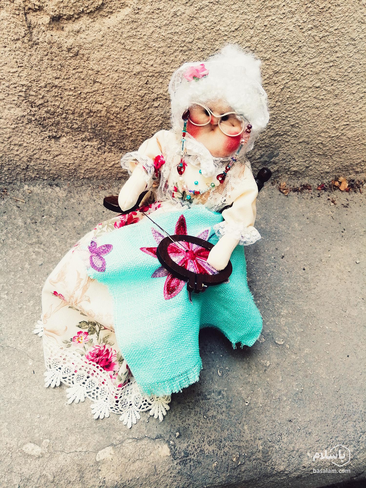 عروسک سازی ساده با طرح روستایی