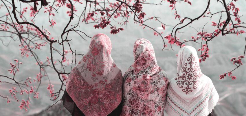 انواع روسری و چادر