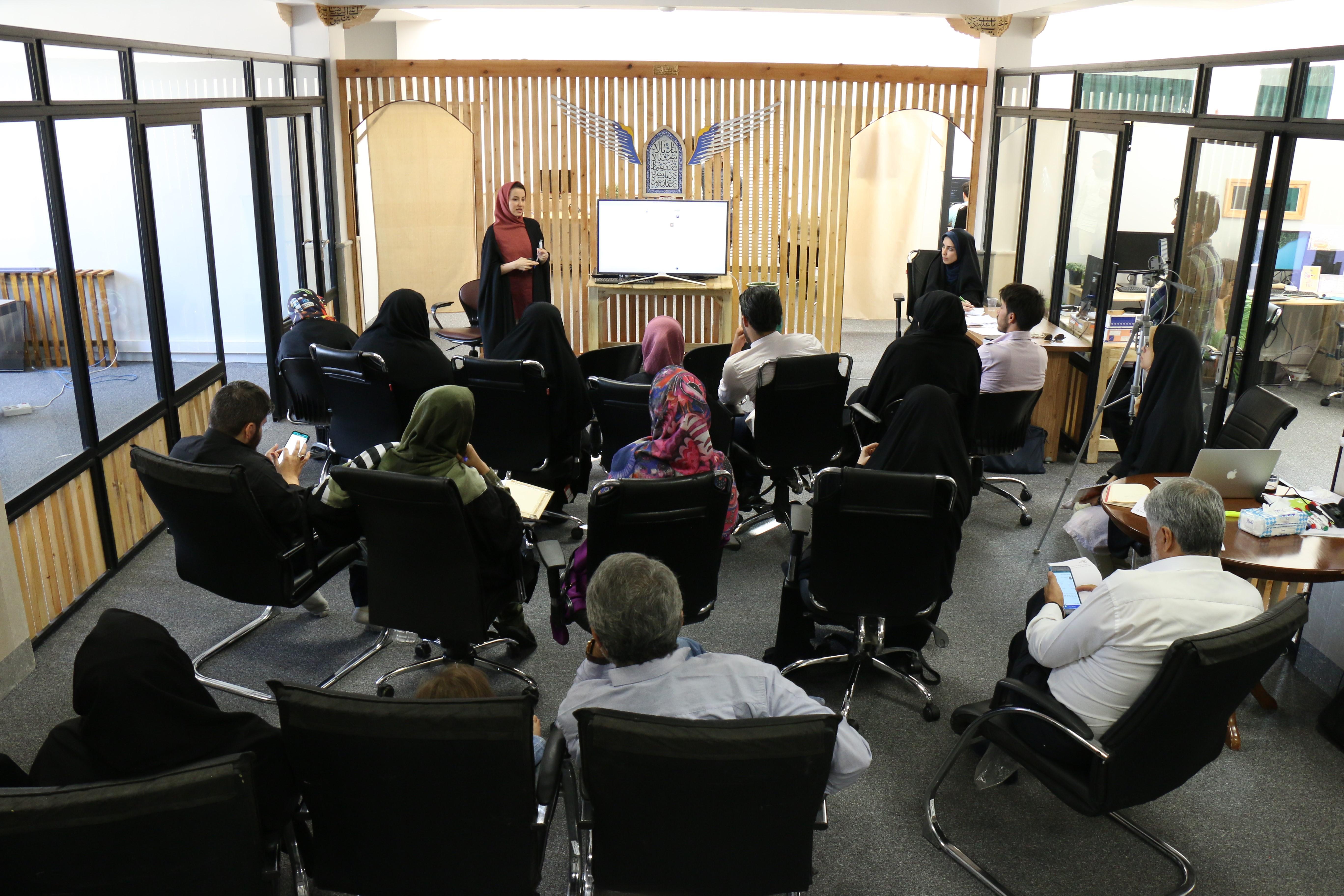 تست قابلیت جدید انتشار محتوا در دفتر باسلام