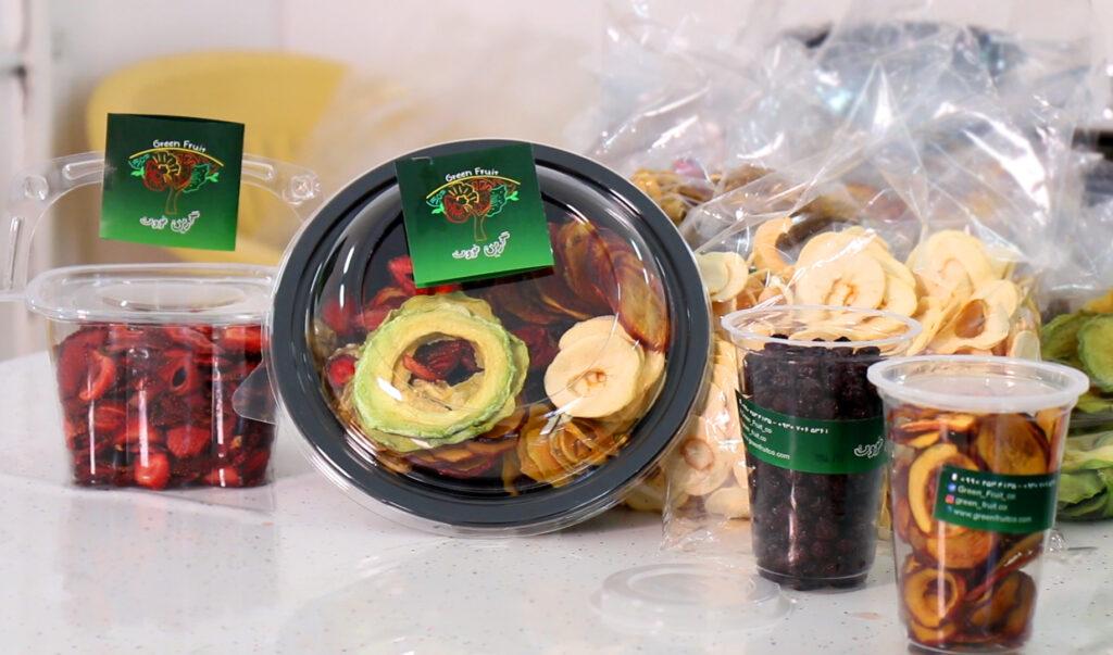 میوه خشک خوشمزه-چیپس میوه به جای پفک-مجله باسلام
