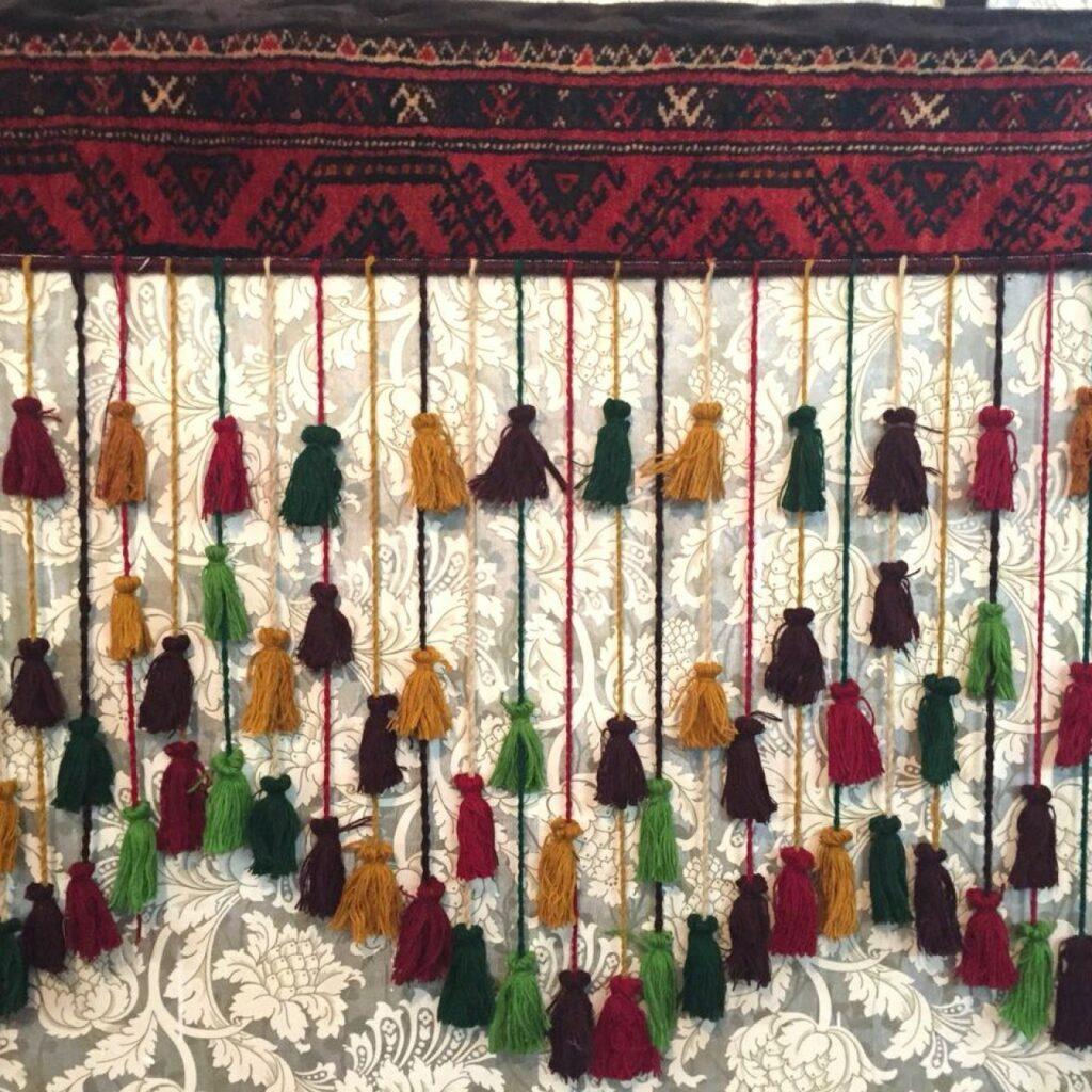 سرپرده سنتی- صنایع دستی ایرانی- مجله باسلام