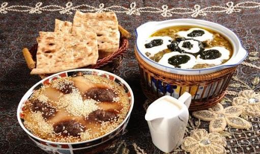آش رشته و حلیم در ماه رمضان